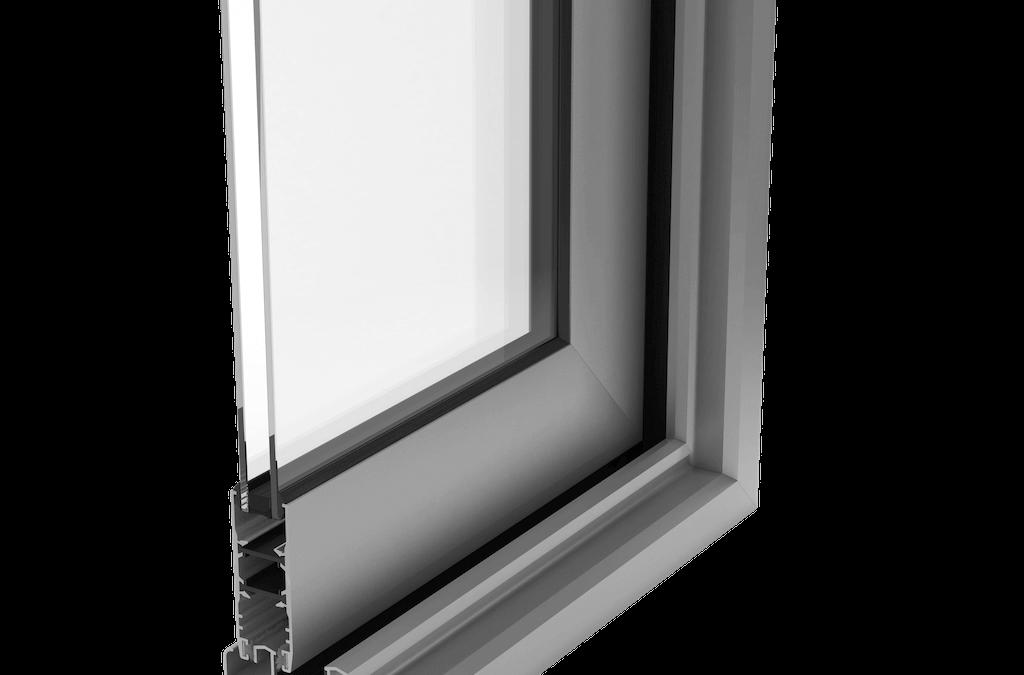 Ventanas de Aluminio rpt rotura de puente térmico Serie MILLENNIUM