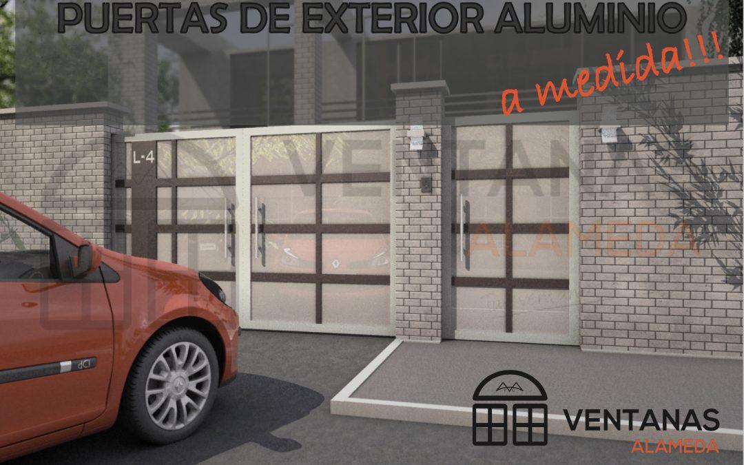 Nuevo producto puertas cancela de aluminio a medida