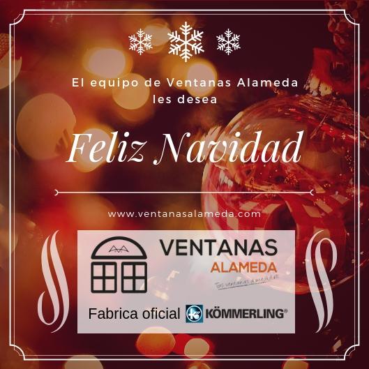 Feliz Navidad de Ventanas Alameda